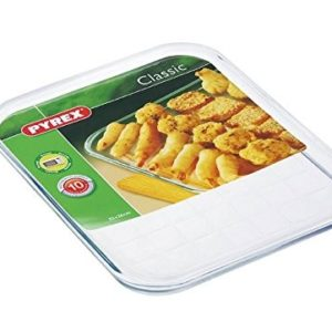 Pyrex Borosilicate Clear Rectangle Baking Tray