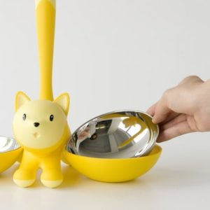 ALESSI TIGRITO CAT BOWL YELLOW