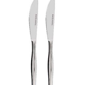 2 SLIMLINE DESSERT KNIVES