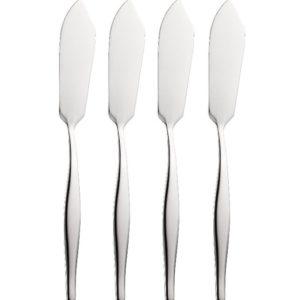 4 SLIMLINE BUTTER KNIVES