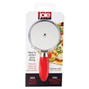 Stainless Steel Mini Pizza Slicer Cutter Wheel – Red