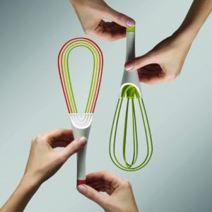 Twist 2-in-1 Whisk – Multicolour