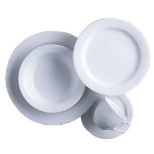 Noritake Arctic White 20 Piece Dinner Service