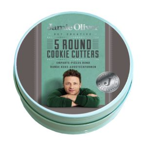 Jamie Oliver Round Cookie Cutters, Set of 5