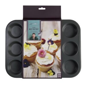 Jamie Oliver Muffin Tin 12 Holes