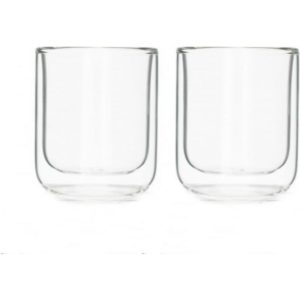 Viva Scandinavia Set of 2 Classic Double Wall Espresso
