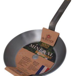 De Buyer Mineral B Element Round Frying Pan 20cm