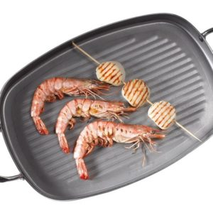 De Buyer Cookware Grill Pans Medium Metallic