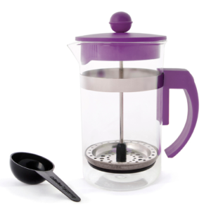 Coffee Plunger Purple 600ml