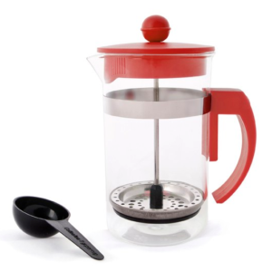 Coffee Plunger Red 600ml