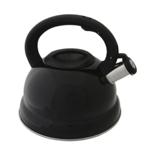 Black Stainless Steel Stove Top Kettle