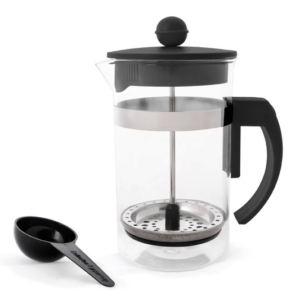 Coffee Plunger Black 600ml