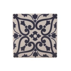Maxwell & Williams Medina Ceramic Square Tile Coaster Maarif 9cm