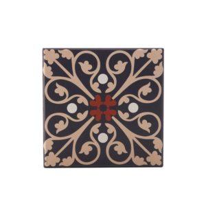 Maxwell & Williams Medina Ceramic Square Tile Coaster Fes 9cm