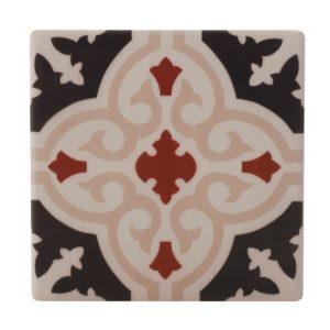 Maxwell & Williams Medina Ceramic Square Tile Coaster Bahia 9cm