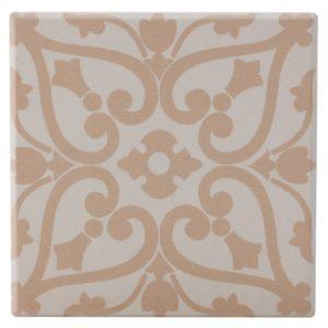 Maxwell & Williams Medina Ceramic Square Tile Coaster Agadir 9cm