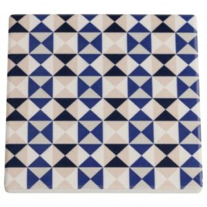 Maxwell & Williams Medina Ceramic Square Tile Coaster Nador 9cm