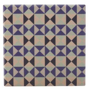 Maxwell & Williams Medina Ceramic Square Tile Coaster Saidia 9cm