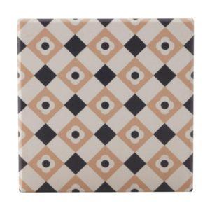 Maxwell & Williams Medina Ceramic Square Tile Coaster Zagora 9cm