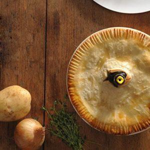 Mason Cash Black Pie Stoneware Bird