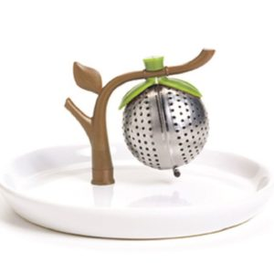 Chef'n TeaTree Tea Infuser and Saucer