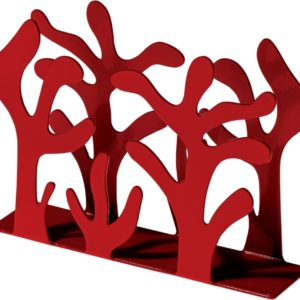 Alessi Mediterraneo Napkin Holder Red