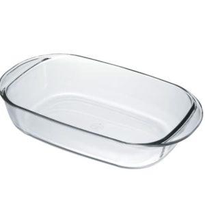 Duralex Ovenchef Rectangular Glass Roasting Dish 33cm