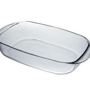 Duralex Ovenchef Rectangular Glass Roasting Dish 38cm