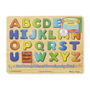 Melissa & Doug Alphabet Sound Puzzle 26pieces