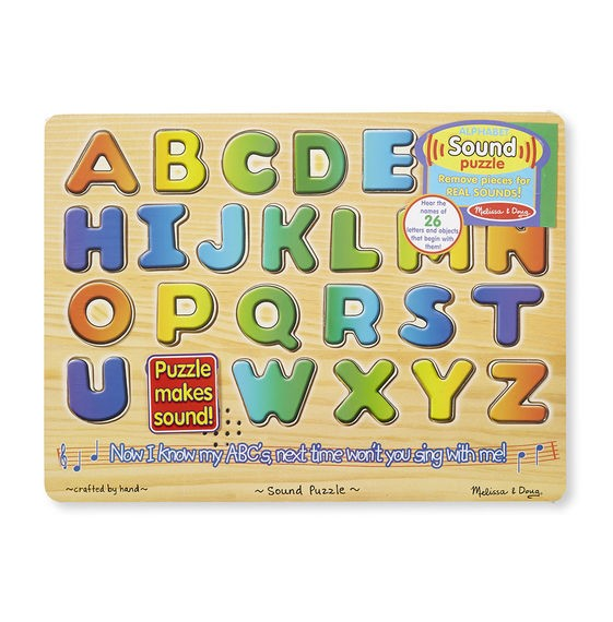 Melissa & Doug Alphabet Sound Puzzle 26pieces