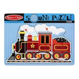 Melissa & Doug Train Sound Puzzle 9pieces