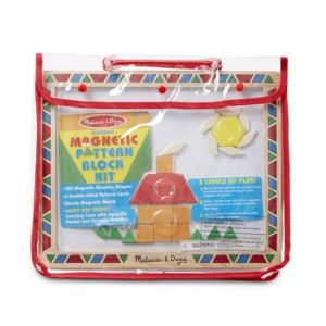 Melissa & Doug Magnetic Pattern Block Set
