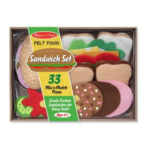 Melissa & DougFelt Play Food Sandwich Set