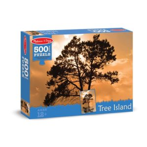 Melissa & Doug Tree Island Cardboard Jigsaw 500 Pieces