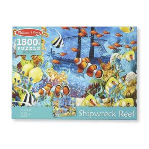 Melissa & Doug Shipwreck Reef Cardboard Jigsaw 1500 Pieces
